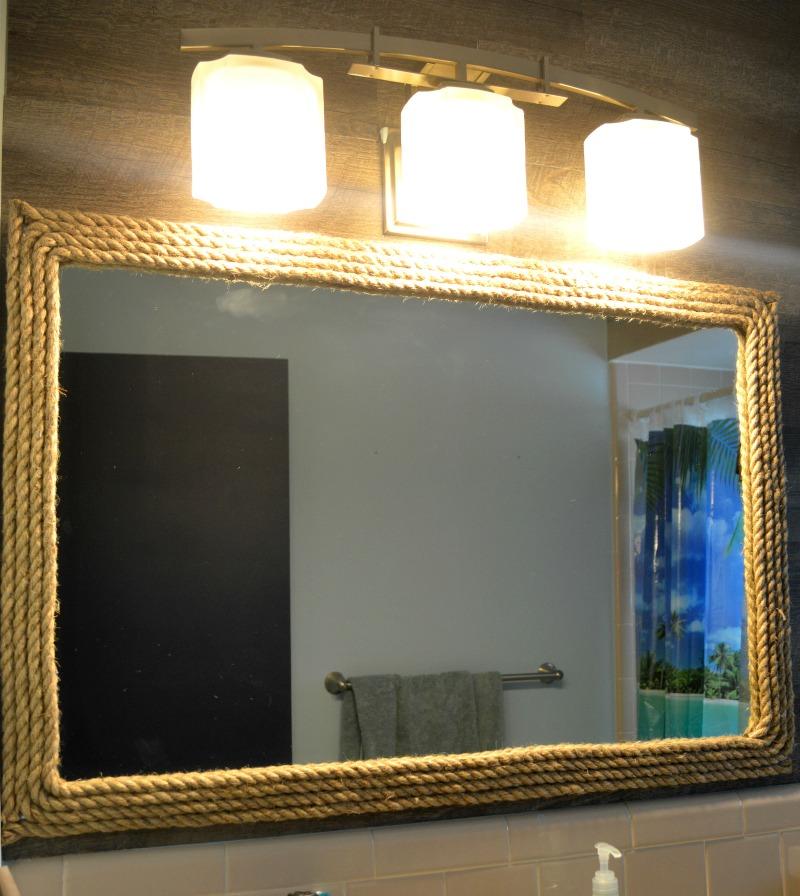 diy nautical mirror decor themrsinglink