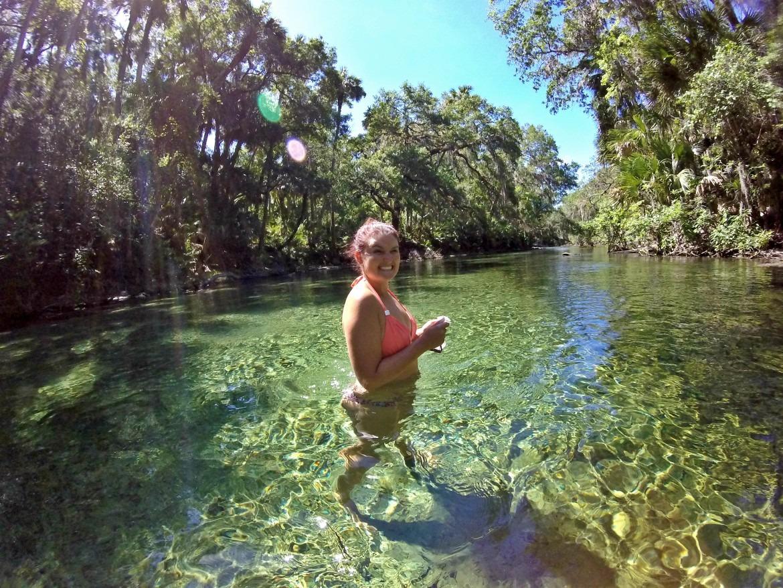 Snorkeling Florida Blue Springs State Park | Florida Springs | Things To Do In Florida | Summer Outdoor Activities | Summer Swimming Activities | State Park Travel | theMRSingLink
