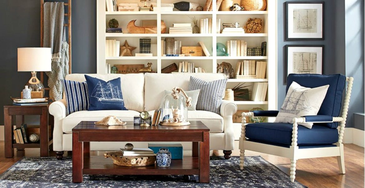 50 inspired ideas for nautical home decor themrsinglink for Home decor living room