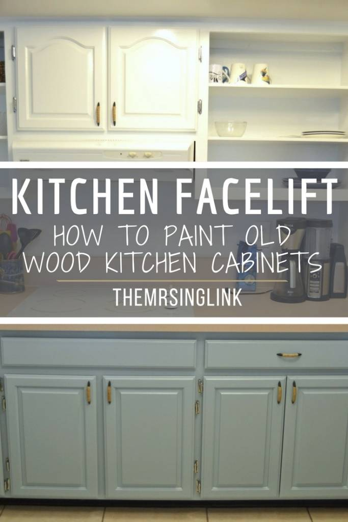 9 Crucial Steps To Give Your Wood Cabinets A Facelift | DIY Painting Wood Kitchen Cabinets | Small Kitchen DIY Renovation | How to paint wood cabinets | DIY before and after | DIY tips | DIY Home Improvements | theMRSingLink