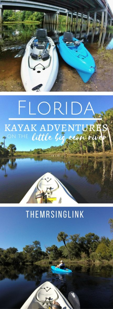 Florida Kayak Adventure | The Little Big Econ River | Florida Travel | Outdoor Travel Adventures | Florida Hiking And Kayaking | theMRSingLink