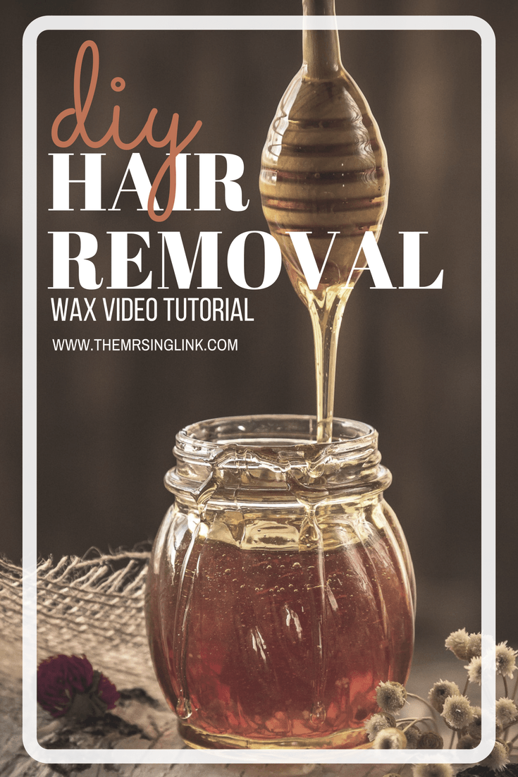 DIY Step By Step Hair Removal Waxing Tutorial | GiGi Wax Hair Removal Kit | Leg Wax Tutorial | How To Wax | Basic Wax Steps On Your Own | Waxing Tips | https://themrsinglink.com | theMRSingLink