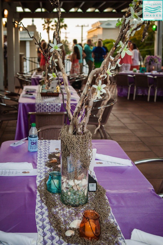 DIY Beach Wedding Centerpieces | theMRSingLink