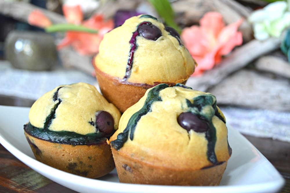 Blueberry Pancake Breakfast Muffins On The Go   Breakfast Recipes   Quick and easy breakfast recipes   Muffin Recipes   Blueberry Recipes   Make Ahead Recipes   On the go recipes   theMRSingLink