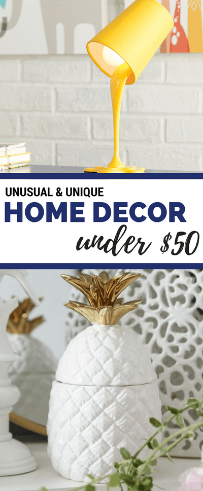 Unique Home Decor Ideas Under $50   Home Decor DIY   theMRSingLink