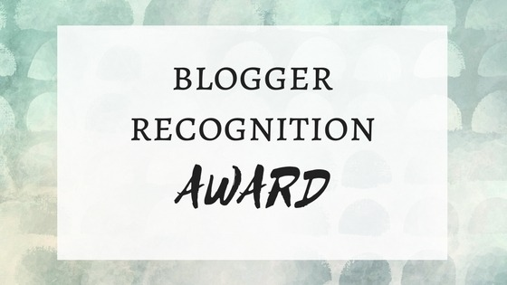 2017 Blogger Recognition Award   theMRSingLink