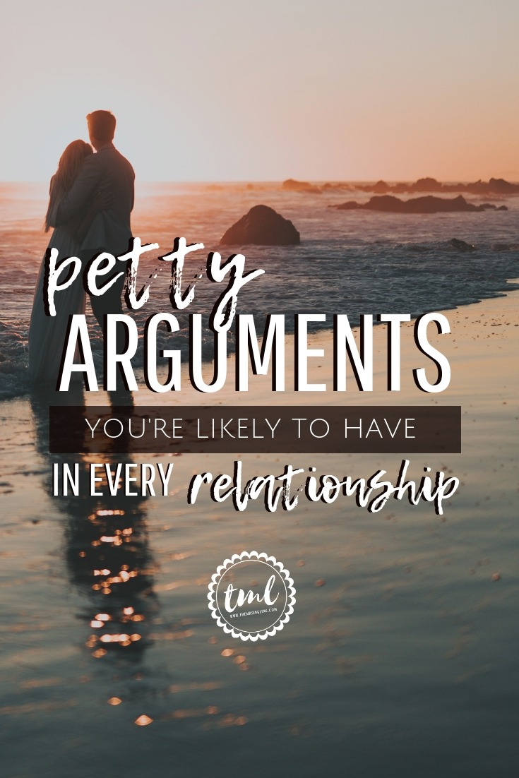 Premise Indicator Words: 10 Petty Arguments You'll Have In Every Relationship